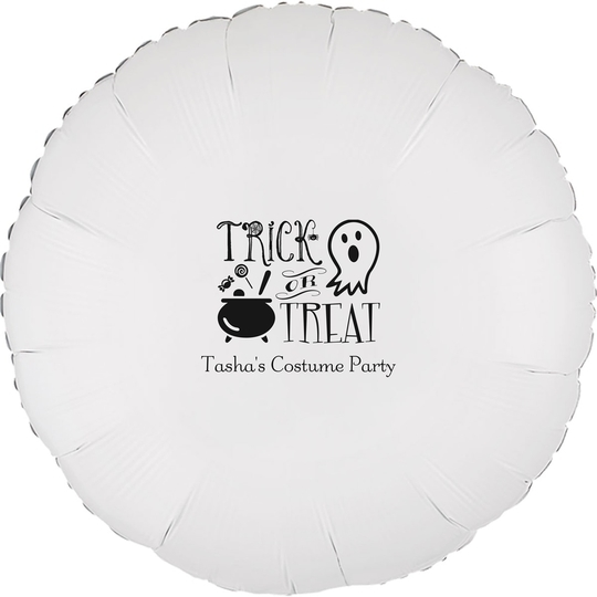 Trick or Treat Mylar Balloons