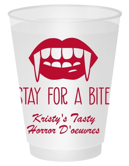 Stay For A Bite Shatterproof Cups
