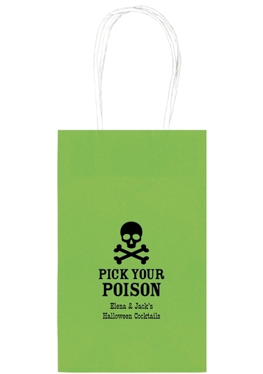 Pick Your Poison Medium Twisted Handled Bags
