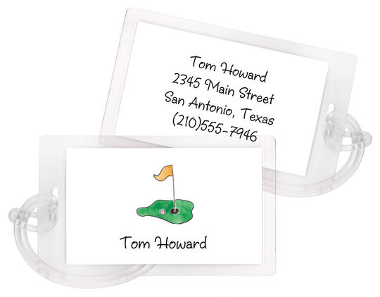 Tee it Up Luggage Tags