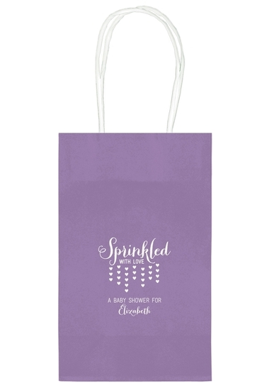 Sprinkled with Love Medium Twisted Handled Bags