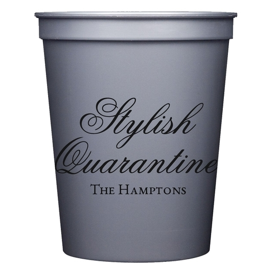 Stylish Quarantine Stadium Cups