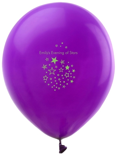 Star Party Latex Balloons