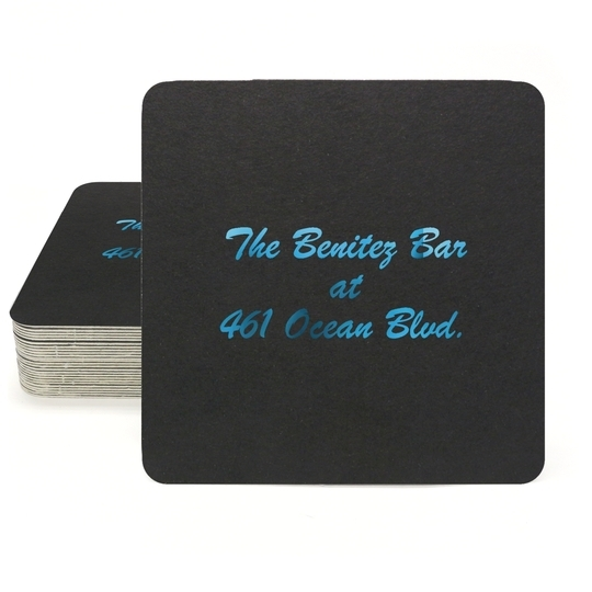 Any Text You Want Square Coasters