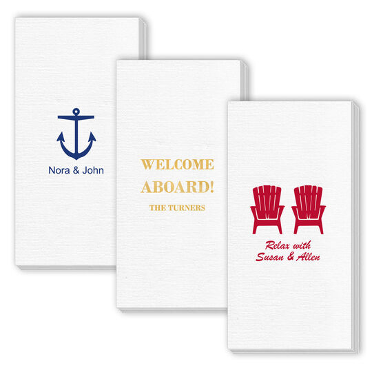 Design Your Own Nautical Theme Deville Guest Towels